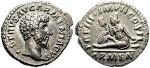 パルティア戦争勝利記念貨幣