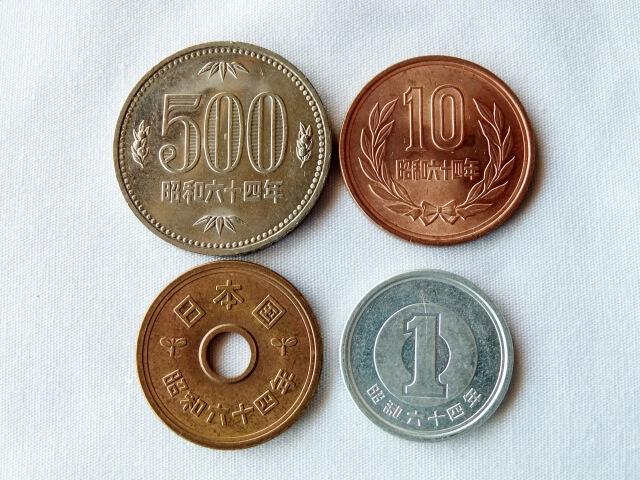 日本の硬貨一覧