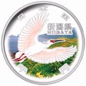 新潟県60周年記念コイン